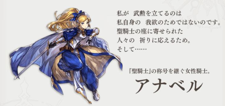 【アナザーエデン】アナベルのスキル・ステータス紹介