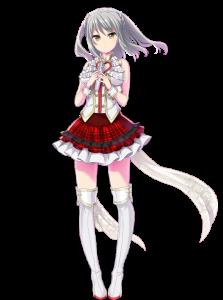 ユキのIDOL衣装